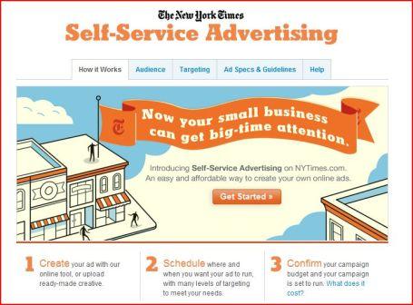 NYT publicité